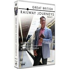 Great British Railway Journeys Season 3 TV Series 3 4 New 5xDVD Region 4