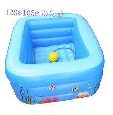 New Inflatable baby ocean Swimming Pool 0-3 Years old Kids Bathtube Pump