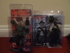 Neca 2 sdcc freddy krueger a nightmare on elm street habillé & normal figures bn