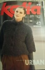 Katia Knitting Pattern Book - No. 84 -  All patterns in English and Spanish