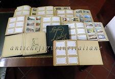 Collezione completa figurine LIEBIG MILANO in 9 album rinforzati