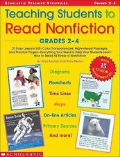 Teaching Strategies: Teaching Students to Read Nonfiction : 20 Easy Lessons...