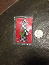 Vintage 1998 Coke Coca-Cola Nascar Bobby Labonte #18 Thirst 4 Racing Pin. NEW!