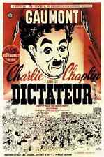 Film Great Dictator The 03 A3 Box Canvas Print