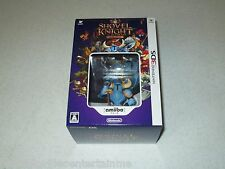 Shovel Knight Amiibo Bundle Nintendo 3DS Unopened Japan Import FREE SHIPPING