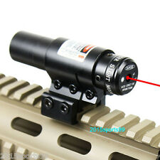 Mounting Crossbow 650nm Red Laser Sight w/Scope Mount Fit Bow Rifle Hunting *