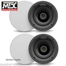 "MTX ICM612 6.5"" 2 Way 50 Watt RMS 100W Peak 8 Ohm In Ceiling Speaker Home Audio"