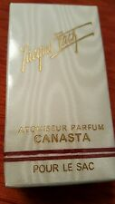 Jacques Fath Canasta   1/7  Oz Parfum made in france  in cellophane