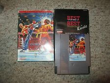 Best of the Best: Championship Karate (Nintendo NES, 1992) Complete FAIR