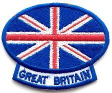 Gran Bretagna Union Jack Patch Ricamato - Da cucire o Da stirare