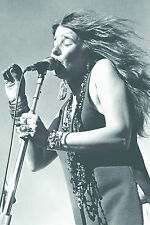 "Janis joplin live poster 24""x36"" maxi taille"
