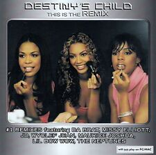 DESTINY'S CHILD : THIS IS THE REMIX / CD (COLUMBIA 507627 2) - TOP-ZUSTAND
