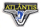 "Stargate Atlantis Dark Blue Logo 3.75"" Uniform Patch- FREE S&H (SGPA-21)"