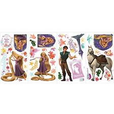 RAPUNZEL Disney's TANGLED 46 decals scrapbook Flynn Maximus wall stickers