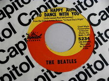 BEATLES~I'LL CRY INSTEAD~NEAR MINT~I'M HAPPY JUST TO DANCE WITH YOU~CAPITOL ~POP