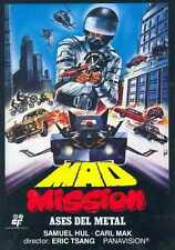 Mad Mission 1982 Poster 01 A2 Box Canvas Print