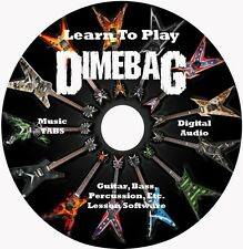 Dimebag Darrell Guitar TAB Tablature Lesson CD 117 Songs! MEGA BONUS!