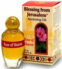 Rose of Sharon Holy Land Jerusalem Israel Biblical Spices Anointing Oil 10ml