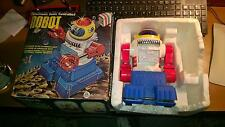 ELECTRONIC CONTROLLED SONIC ROBOT VINTAGE ANNI 80 ALES MADE IN HONG KONG
