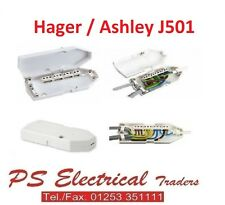 HAGER ASHLEY J501 DOWNLIGHTER ANSCHLUSS DOSE 16AMP 17TE EDITION