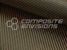 "Bronze Mirage™ Carbon Fiber Cloth Fabric 2x2 Twill 50"" 3k 290gsm 8.6oz HD"