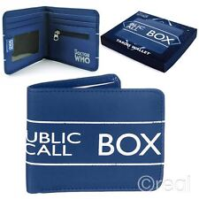 New Doctor Who TARDIS Bi-Folding Wallet Retro Official Licensed