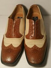 J. Peterman Co. Spectators Made in Italy Shoes Women's Size 7.5 B