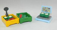 Playmobil Supermarkt Zubehör Gemüsewaage und Gemüse zu 3965 4279 3200 #33515