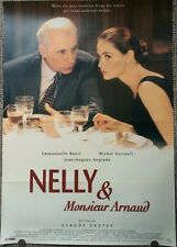 NELLY & MONSIEUR ARNAUD ORIGINAL POSTER EMANUELLE BEART