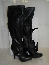 Nine West New Womens Jaelynn Black Boots 6 M Shoes NWB