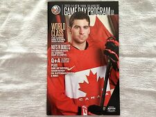 John Tavares Team Canada Hockey Sochi 2014 Olympic Jersey NY Islanders Program