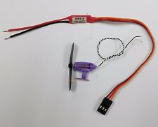 K059rK:1 set micro Brushed Motor, ESC, Prop. w/Stand for home made mini RC Plane