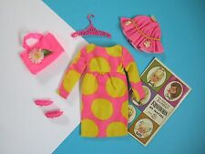 Barbie Vintage FRANCIE Complete Outfit SUN SPOTS #1277 Free Shipping USA
