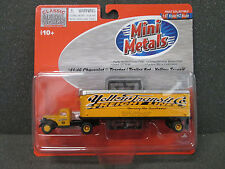 HO  '41/46 Chevy Yellow Transit Tractor / Trailer - Classic Metal Works #31159