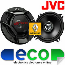 "Renault Clio 1998-05 MK2 JVC 5.25"" 13cm 520 Watts Rear Door Car Speaker Upgrade"