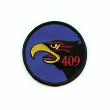RCAF CAF Canadian 409 Squadron Hawk Colour Crest Patch
