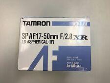 """Tamron SP AF 17-50mm f/2.8 XR LD Aspherical IF Nikon Mount """"Used"""" -L003"""