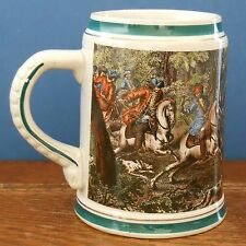 A Rastal Stein with historic hunting scene