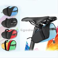 Portable Waterproof Cycling Bike Bicycle Saddle Ourdoor Pouch Back Rear Seat Bag