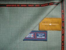 SUPER 150's WOOL HARDY MINNIS .SUITING FABRIC Made In Huddersfield England-3.4 m