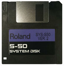 ROLAND S-50 Operating System Startup Disk v2 OS Boot - Fastest Shipping! NEW