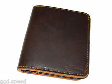 NEW! Saddleback Leather LARGE BIFOLD WALLET in Dark Coffee Brown DCB RFID Shield