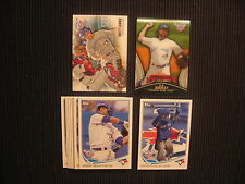 2013 TOPPS OPENING DAY TORONTO BLUE JAYS MASTER TEAM SET 12 CARDS  R A DICKEY +