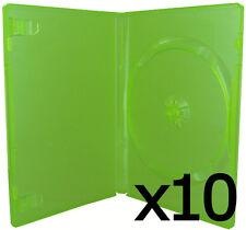 "LOT 10 BOITIER BOITE POCHETTE VERT JEU CONSOLE XBOX 360 ""NEUF"" XR00010LGK_36"