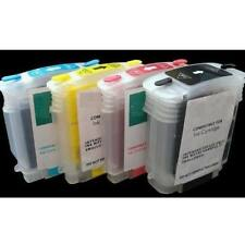 Refilled set Refillable Ink Cartridges for HP 10 11 1100d 2300 2600 2800 4x100ml