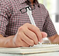 Kikkerland Nerd Indubitably Talking Ballpoint Pen With Glasses School Work Pens