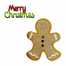 Sizzix Bigz Gingerbread Man die #658178 Retail value $27.99 BONUS Sizzlits die!!