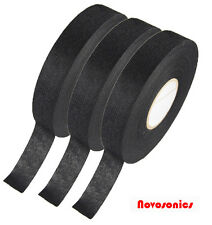 US Seller Automotive Cloth Tape 19mm x 25m Adhesive Cloth Fabric Tape 3 PACK