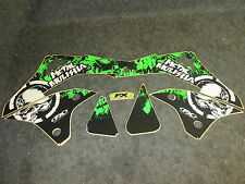Kawasaki KXF450 2006-2008 Factory FX Metal Mulisha graphics kit GR1197