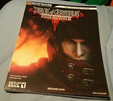 FINAL FANTASY VII DIRGE OF CERBERUS STRATEGY GUIDE BOOK BRAND NEW WITH POSTER